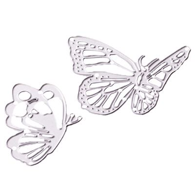 Fancyleo Cutting Dies,Party Summer Christmas Thanksgiving Halloween 2019 Metal Die Die-Cut Stencil For DIY Scrapbooking Album Paper Card Decor Craft (Butterfly)