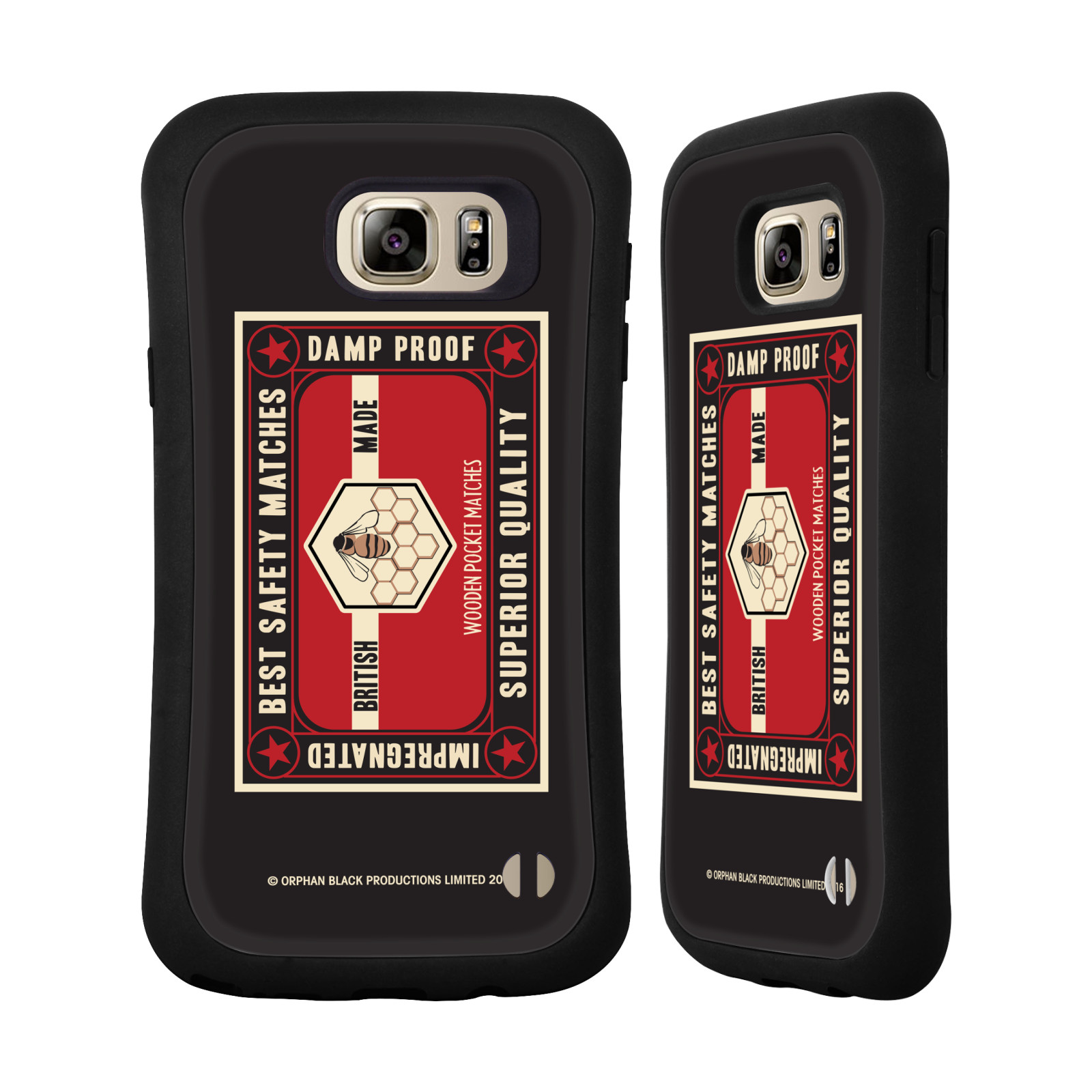 OFFICIAL ORPHAN BLACK GRAPHICS HYBRID CASE FOR SAMSUNG PHONES