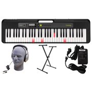 Casio LK-S250 61-Key Premium Lighted Keyboard Pack with Stand, Headphones & Power Supply (CAS LKS250 PPK)