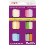 Sculpey III Polymer Clay Multipack 1oz 12/Pkg-Pastels