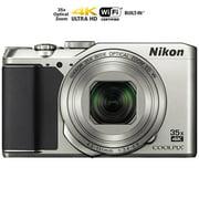 Nikon COOLPIX A900 20MP HD Digital Camera w/ 35x opt. Zoom & WiFi - Silver (26505B) (Certified Refurbished)