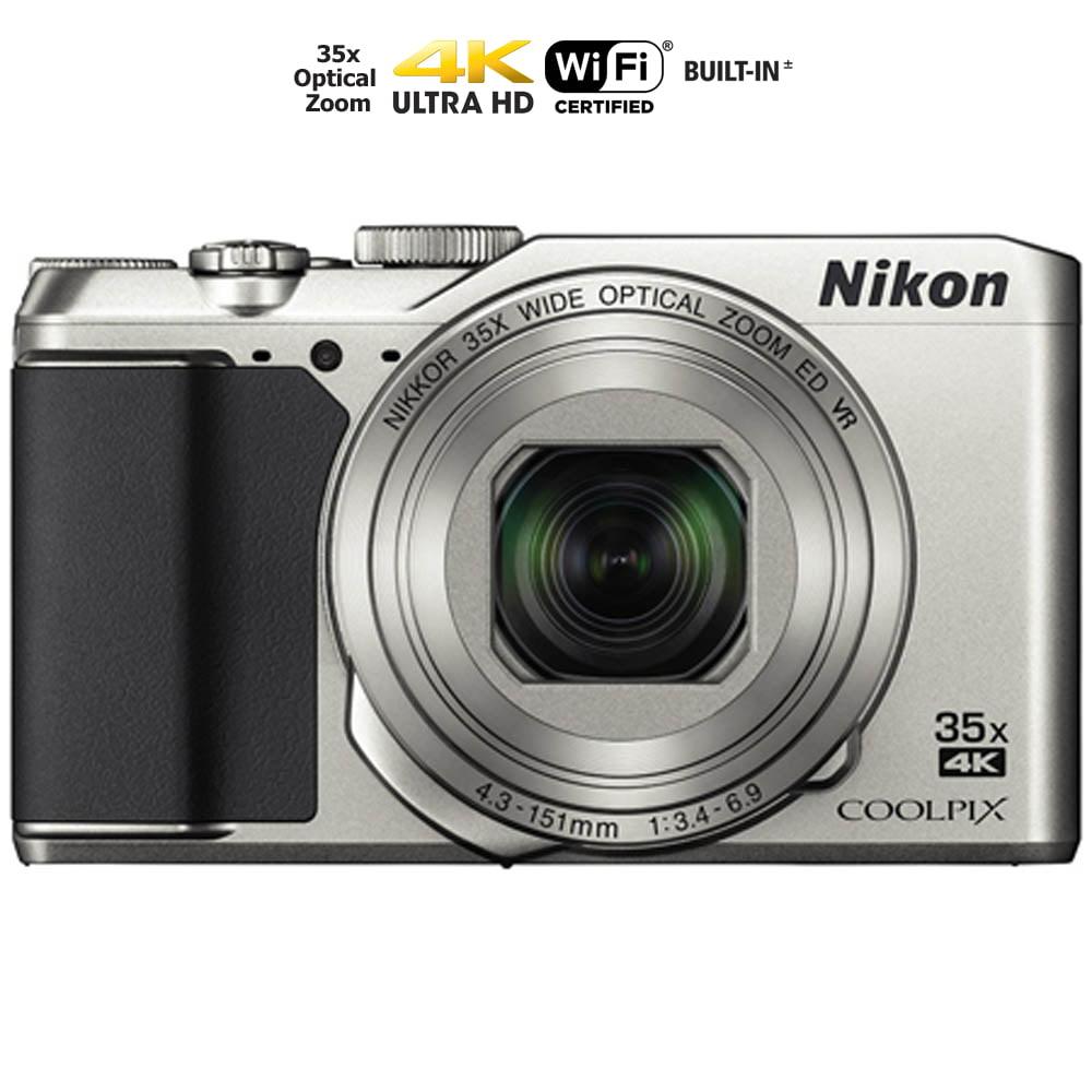 Nikon Coolpix A900 4K WI-FI Digital Camera (Silver) - (Ce...