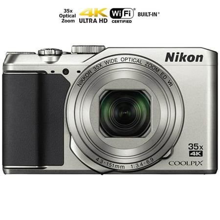 A900 Camera (Nikon COOLPIX A900 20MP HD Digital Camera w/ 35x opt. Zoom & WiFi - Silver (26505B) (Certified)