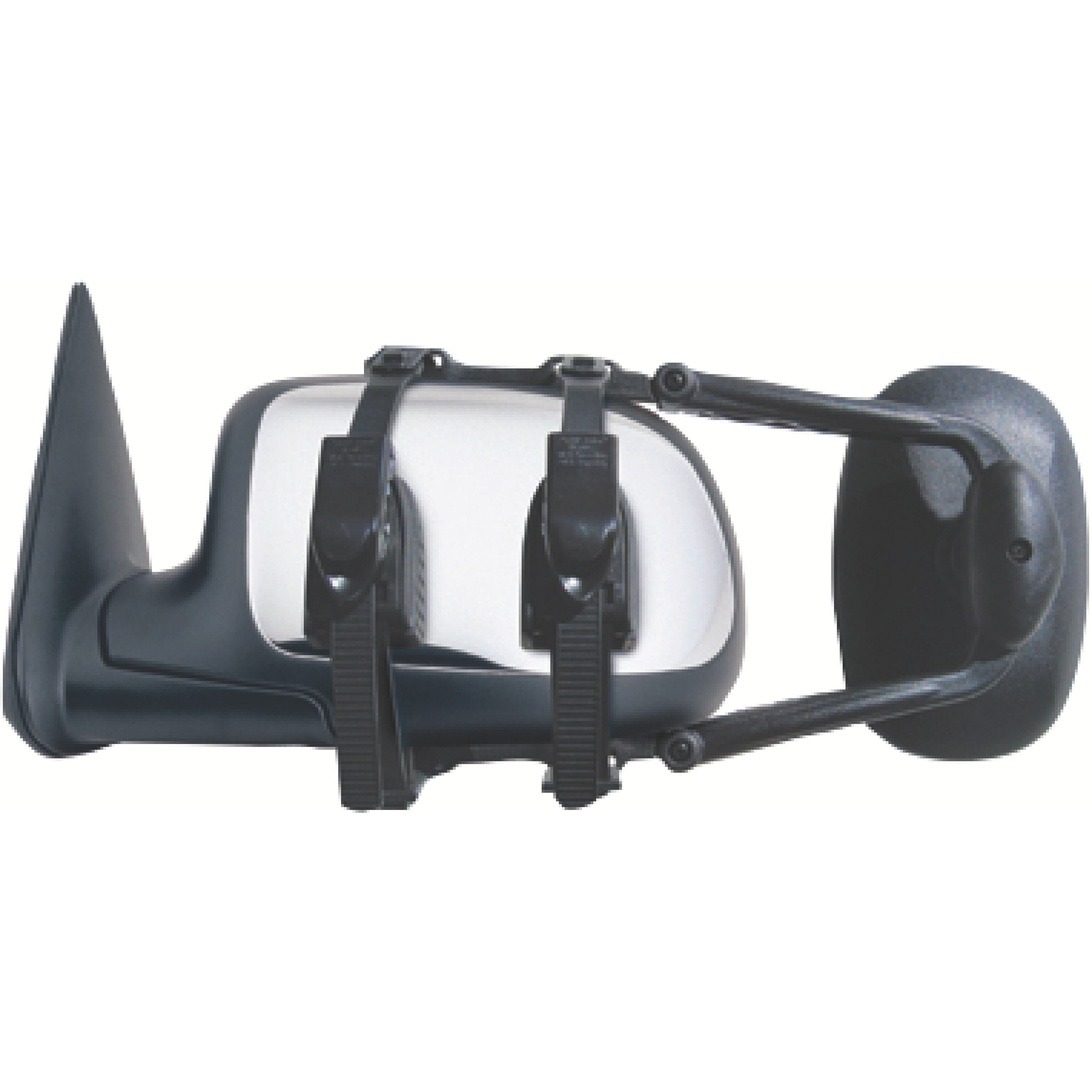 3891 - Fit System Extra Large Clip-On RV Universal Towing Mirror