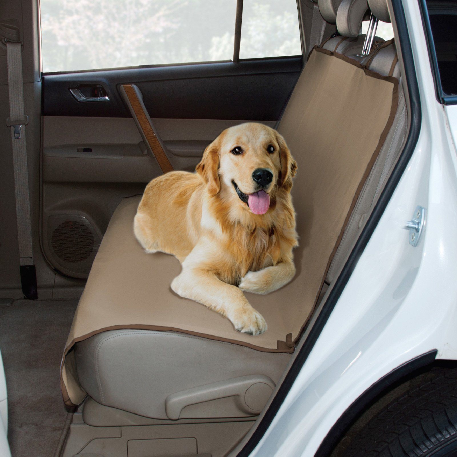 Paws & Claws Waterproof and Tear Proof Oxford Bench Style Car Seat Cover