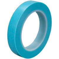 T9334737T Blue 1/2 Inch x 36 yds. 3M 4737T 5.1 Mil Masking Tape Made In USA CASE OF 72