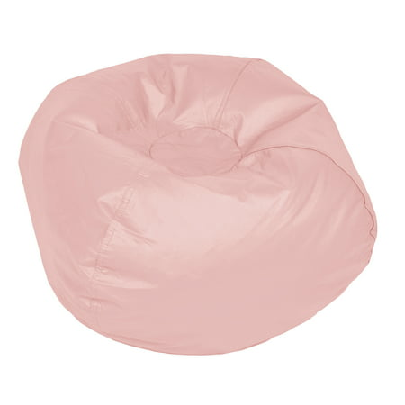 Amazing Acessentials Medium Vinyl Bean Bag Chair Multiple Colors Gmtry Best Dining Table And Chair Ideas Images Gmtryco