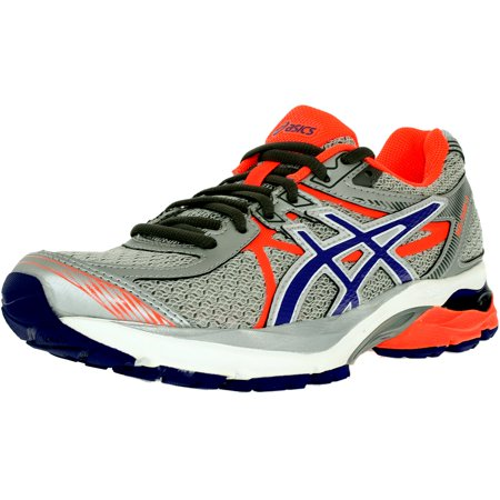 Asics Women's Gel-Flux 3 Silver/Blueberry/Flash Coral Ankle-High Running Shoe -
