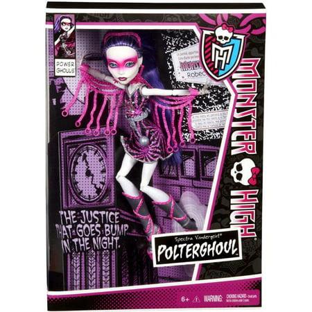 Monster High Power Ghouls Spectra Vondergeist Exclusive 10.5