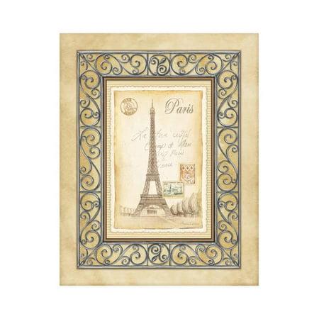 - Paris Postcard Print Wall Art By Andrea Laliberte