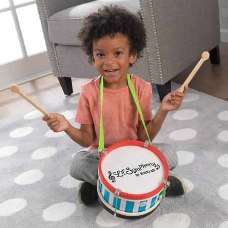KidKraft Lil' Symphony Wooden Drum