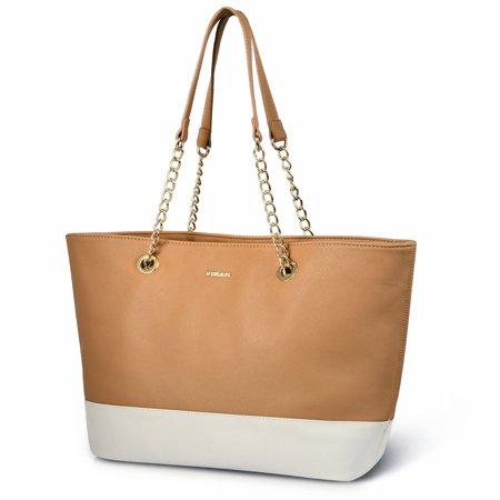 Dakine Girls Handbag (Women Fashion Tote Bag - Vbiger PU Leather Handbag Shoulder Bag Tote Purse Hobo Bag for Girls Women Ladies )