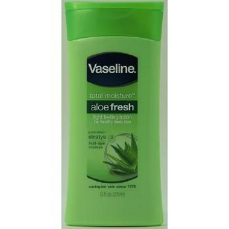 Product Of Vaseline, Moisture Skin Lotion Aloe Fresh, Count 1 - Cream & Lotions / Grab Varieties & Flavors
