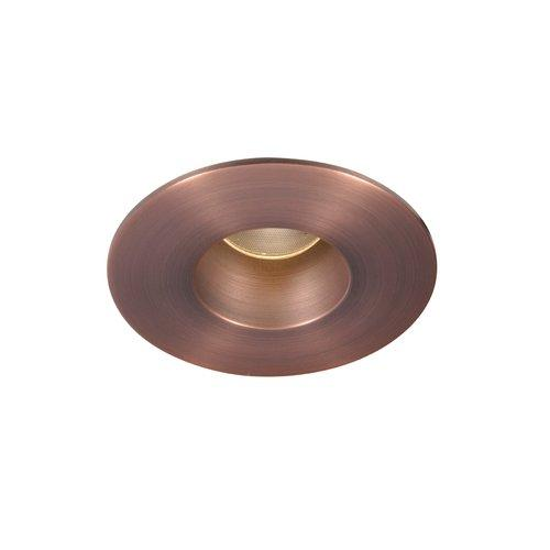 WAC Lighting Tesla High Output LED Recessed Open Reflector Round Trim 3000K Copper Bronze