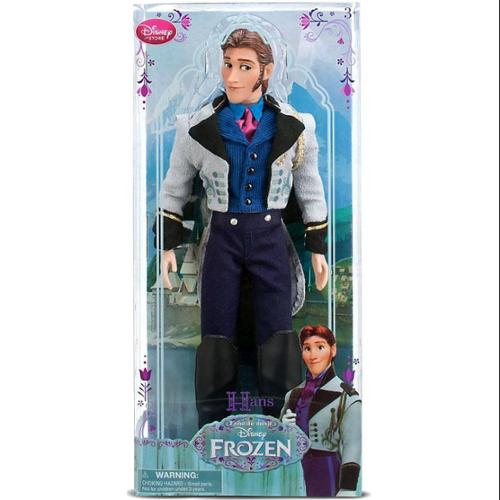 "Disney Frozen 2013 Classic Hans Exclusive 12"" Doll"