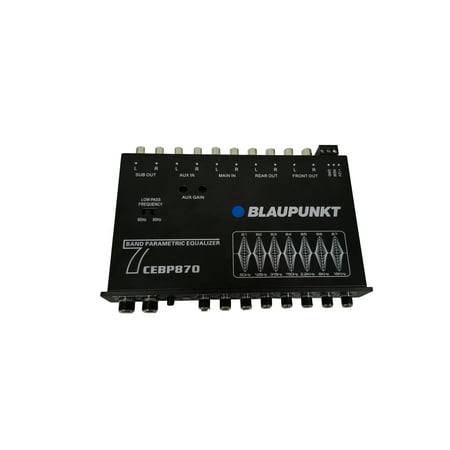 Blaupunkt Compact 7-Band Digital Equalizer (CEBP870)