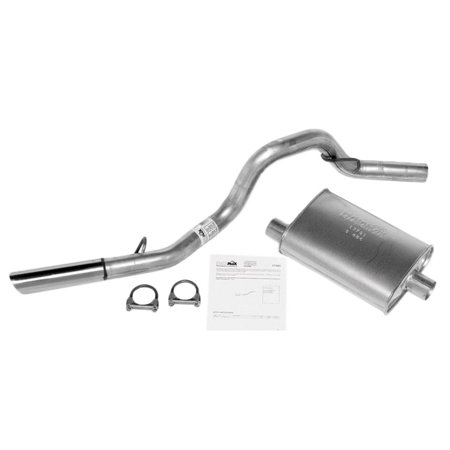 97-00 Jeep Wrangler Exhaust System Replacement Auto Part, Easy to Install