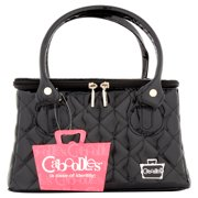 Caboodles Sassy Tapered Makeup Tote, Black