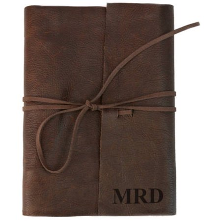 Custom Genuine Leather Binding Large Writing Journal