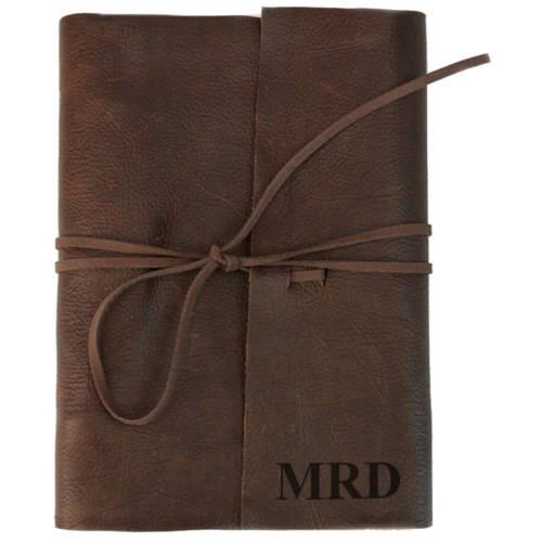 Custom Genuine Leather Binding Large Writing Journal