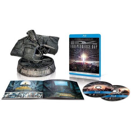 Anniversary Ultimate Collectors (Independence Day (20th Anniversary Ultimate Collector's Edition) (Blu-ray))
