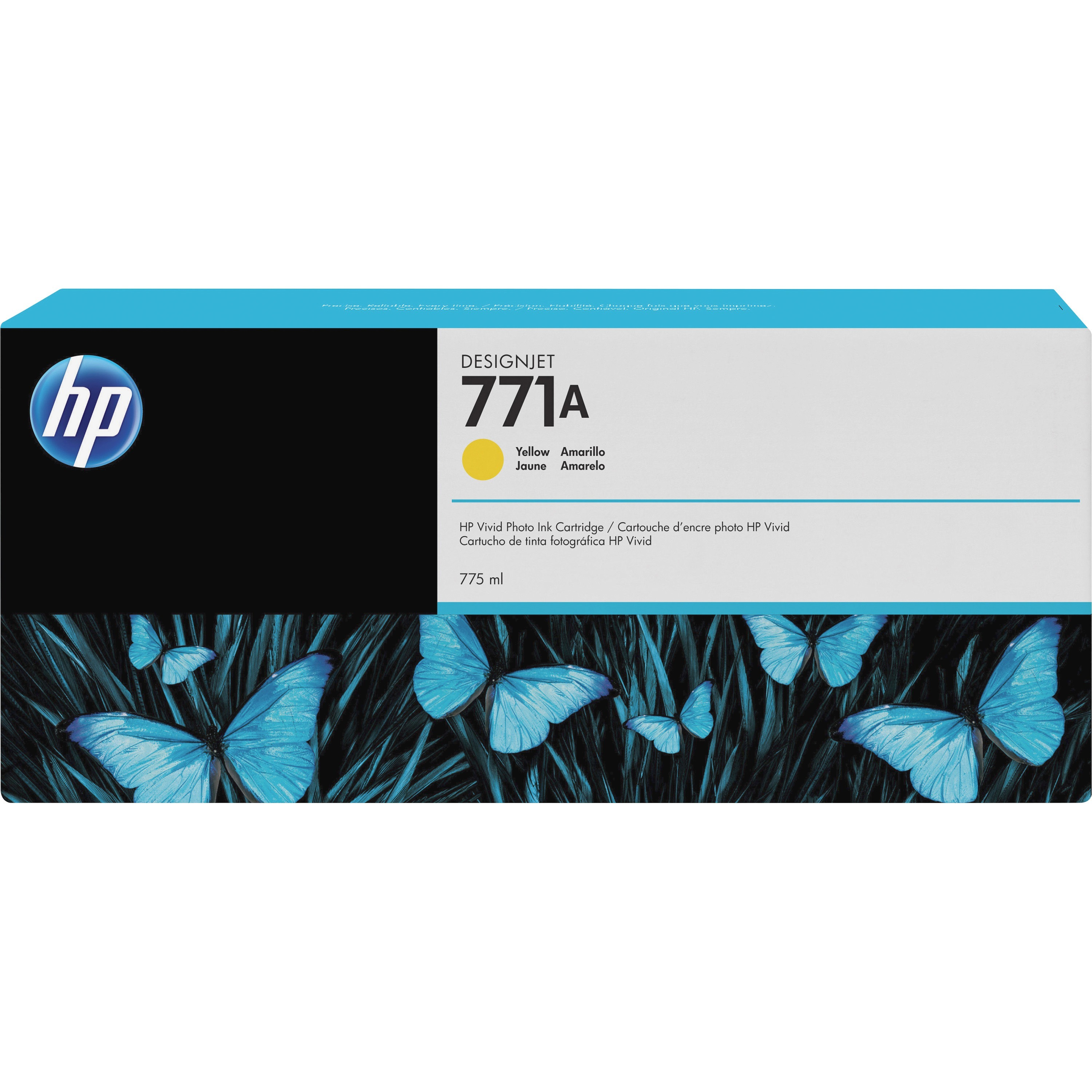 HP, HEWB6Y18A, 771 Inkjet Cartridge, 1 Each