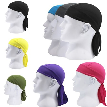 Cycling Bike Cap - Man Outdoor Bike Bicycle Cycling Pirates Hat Head Scarf Helmet Bandana Cap Hat
