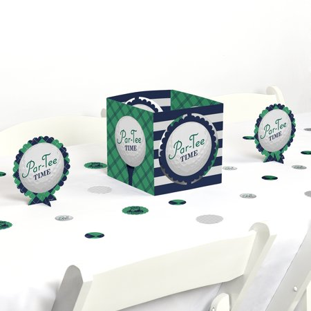 Golf Parties (Par-Tee Time - Golf - Birthday or Retirement Party Centerpiece & Table Decoration)