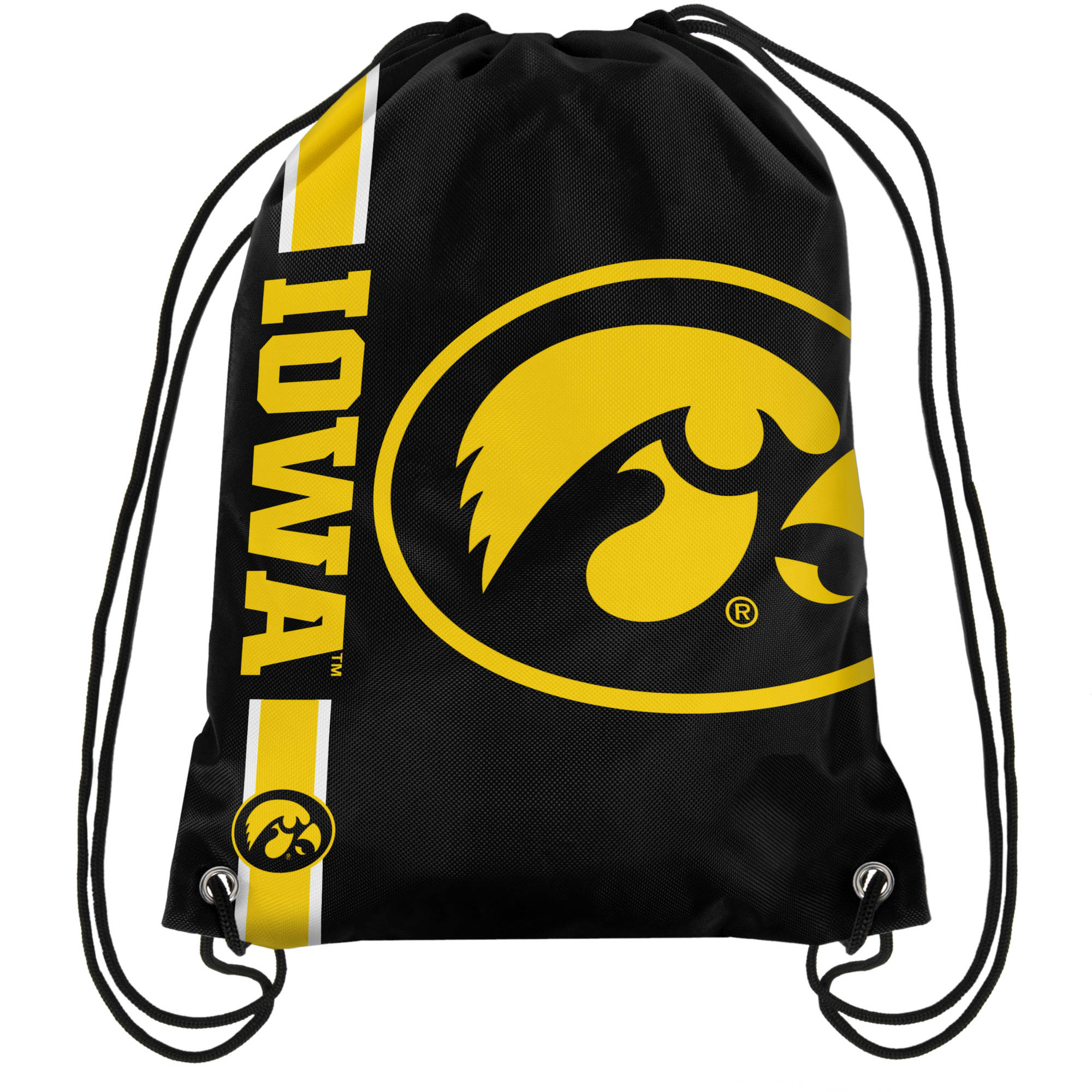 NCAA Iowa Drawstring Backpack