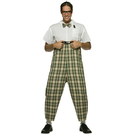 Nerd Adult Costume - Nerd Costume For Men