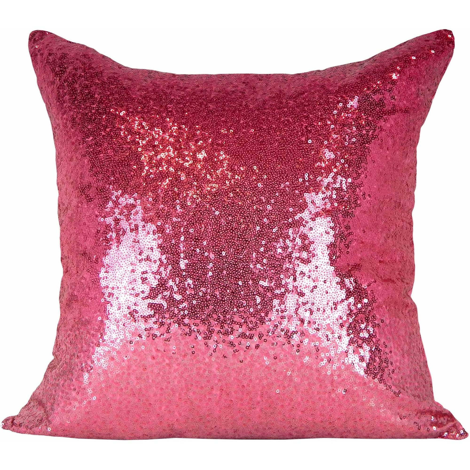 . better homes and gardens teal ombre sequin pillow  walmartcom