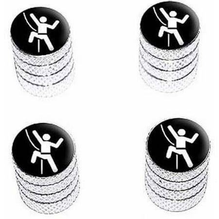 Rock Climbing Repelling Belay Tire Rim Wheel Aluminum Valve Stem Caps, Multiple