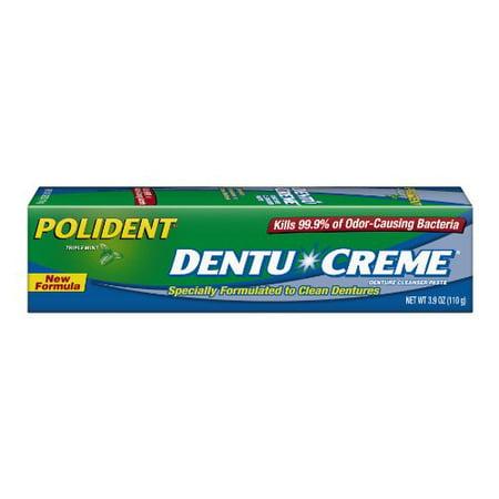 Polident Dentu-Creme Denture Toothpaste, 3.9 Oz