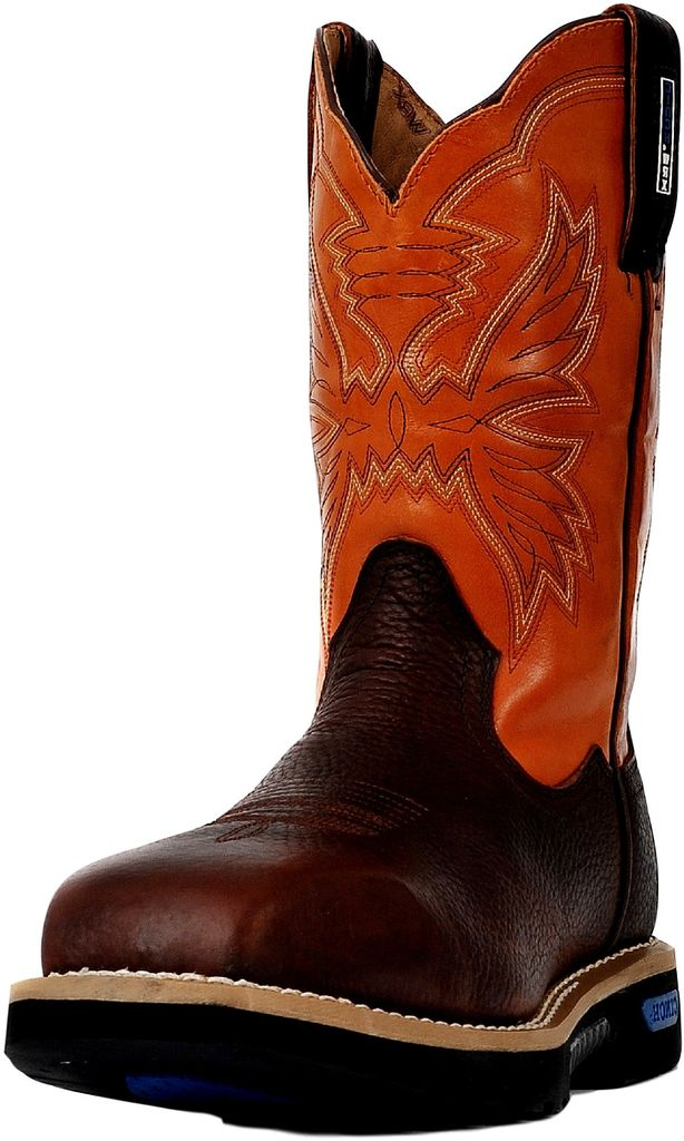 64418d5ae20 Cinch Work Boots Mens WRX CT Safety Toe Brown Orange WXM109SW