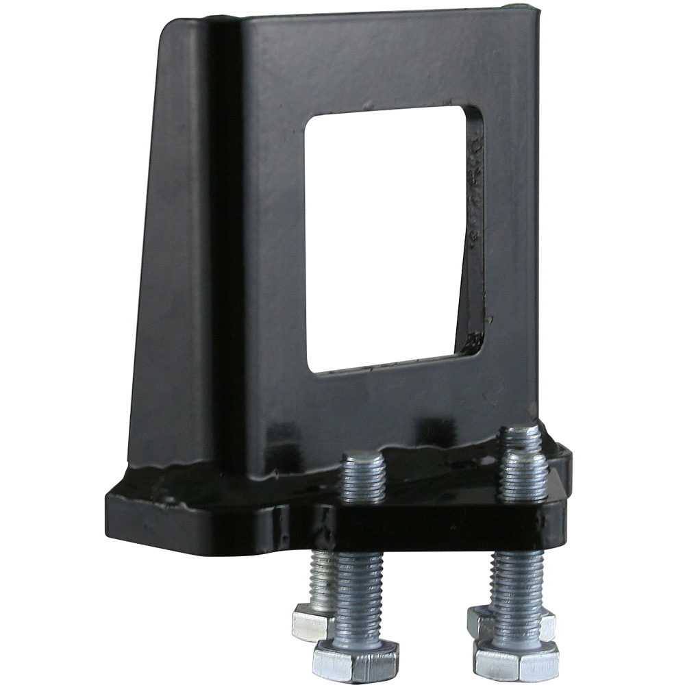 "2"" Hitch Receiver Tube Stabilizer Reverse Anti-Tilt Locking Collar by Rage Powersports"