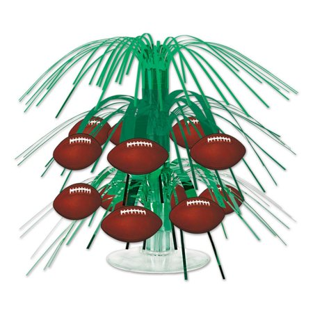 (12ct) Football Mini Cascade Centerpiece (Football Banquet Centerpieces)