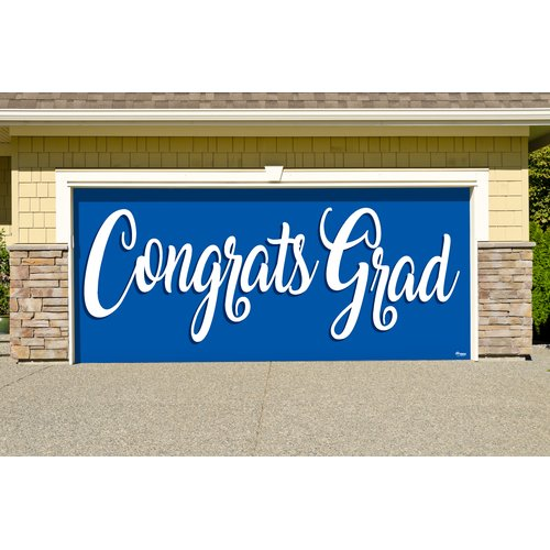 Red Barrel Studio Graduation Garage Door Mural