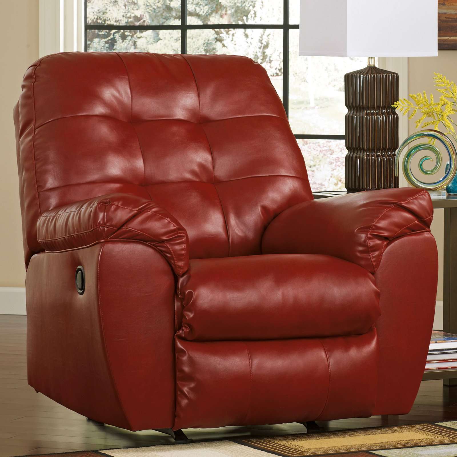 Leather rocker recliner leather rocker swivel recliner for Berkline sectional sofa with chaise