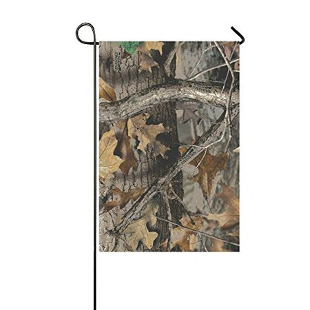 MYPOP Timber Real Tree Yard Garden Flag 12 x 18 (Realtree Flag)