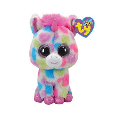 TY Beanie Boos - SKYLAR the Spotted Unicorn (Glitter Eyes) (Regular Size - 6 inch) *Limited
