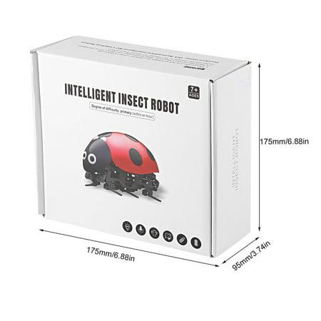 Remote Control Simulate Ladybug Electronic Toy DIY Children Gift Novelty Toy - image 7 of 8