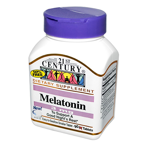 21St Century Melatonin 3 Mg Tablets Supports Nights - 90 Ea