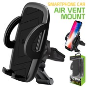 Cellet Universal Smartphone Car Air Vent Mount Holder Cradle for iPhone XS XS Max XR X 8 8 Plus 7 7 Plus SE 6s 6 Plus 6 5s 4 Samsung Galaxy S10 S9 S8 S7 S6 S5 S4 LG Nexus Sony Nokia and More
