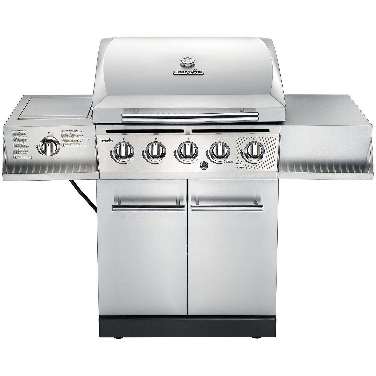 smoke hollow 2 burner lp gas barrel grill walmart com