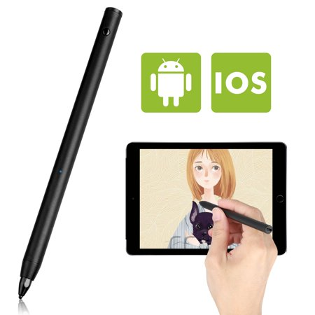 TSV Precision Fine Point Active Stylus Pen, High Sensitive Smart Pencil Digital Stylus Pen Writing and Drawing Experience for iPad iPhone Samsung,