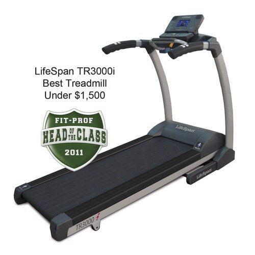 LifeSpan Fitness TR 3000 Treadmill