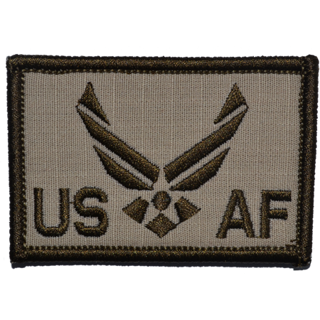 US Air Force Emblem - 2x3 Patch