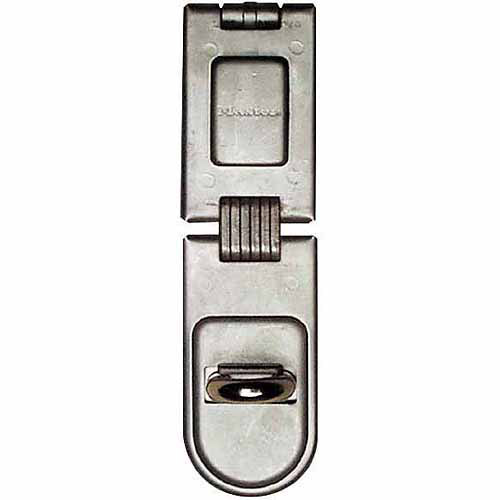 "Master Lock 720DPF 6-1/4"" Single-Hinge Security Hasps"