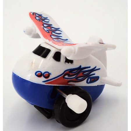 Back Flipping Air Plane Wind Up Toy One Piece - Wind Up Toy