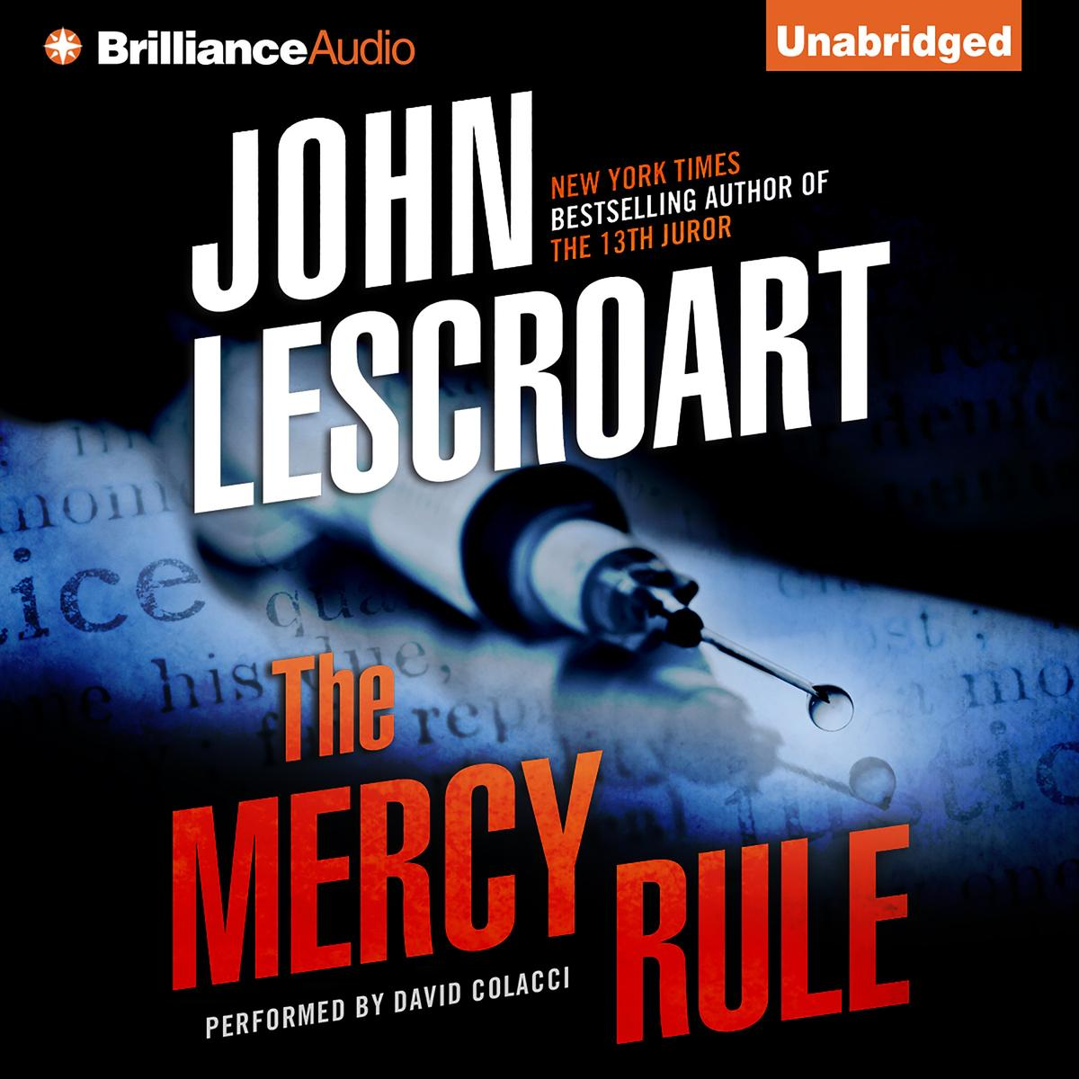 Mercy Rule, The - Audiobook